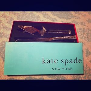 Kate Spade 2pc cake server